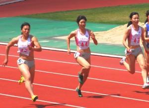 100m(熊谷、河原崎、須田)